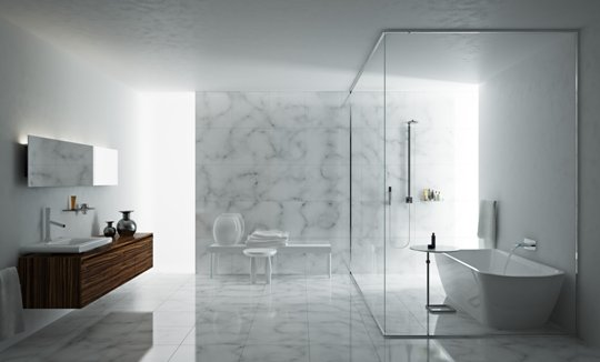 bathroom with minimalist touch