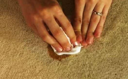 remove stains from carpet