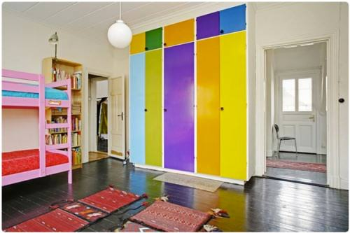 children's shared bedroom
