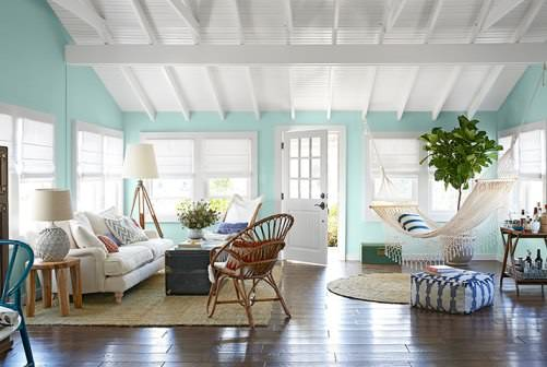 color throughout the house
