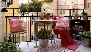 decorate small terrace
