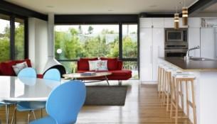 loft style living room