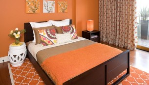 color in bedroom