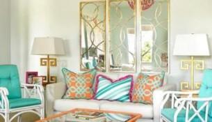 fabrics in living room