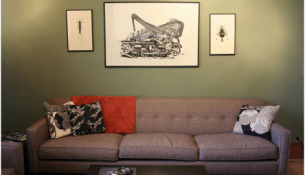 saving space with furniture