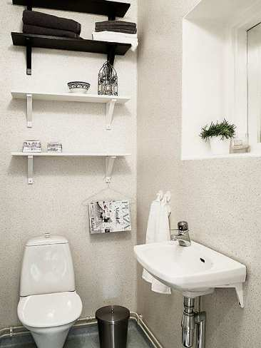 tricks for small bathroom