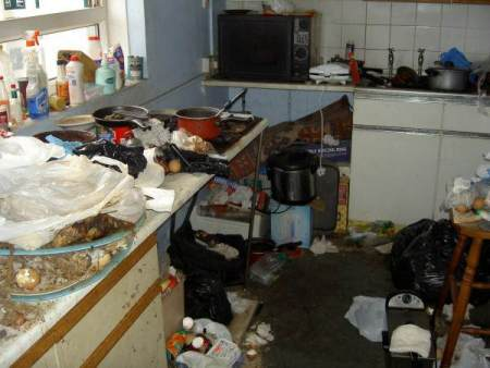 dirtiest places in home
