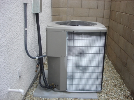 hvac unit freezing up