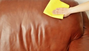 care for leather furniture