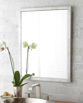 right mirror for bathroom