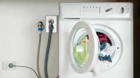 leak in washing machine