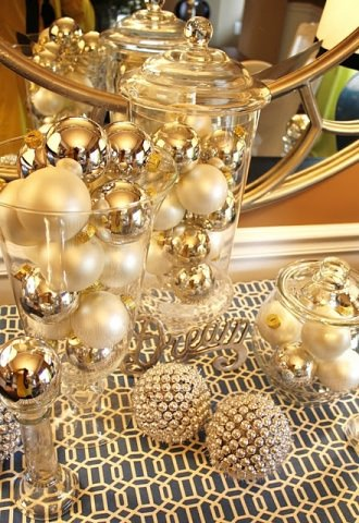 gold decoration style