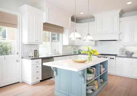 kitchen bursting with character
