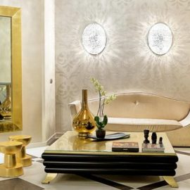 decoration in gold