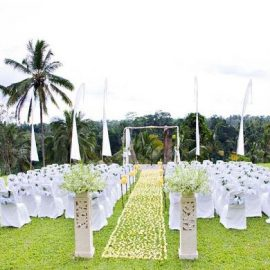 outdoor marriage decoration