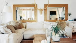decorate with mirrors