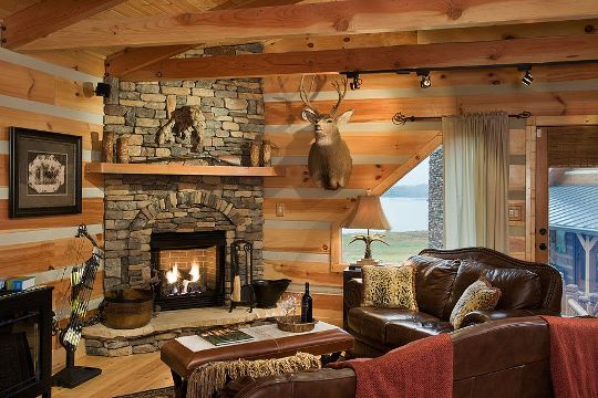 Cooling And Heating A Log Home Creative Home