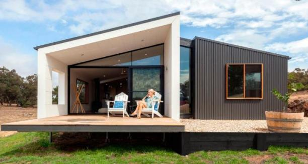 prefabricated house