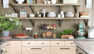 organizing small kitchen