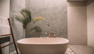 greener bathroom