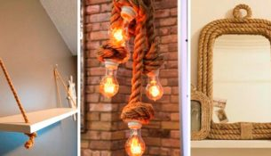 decorate with ropes